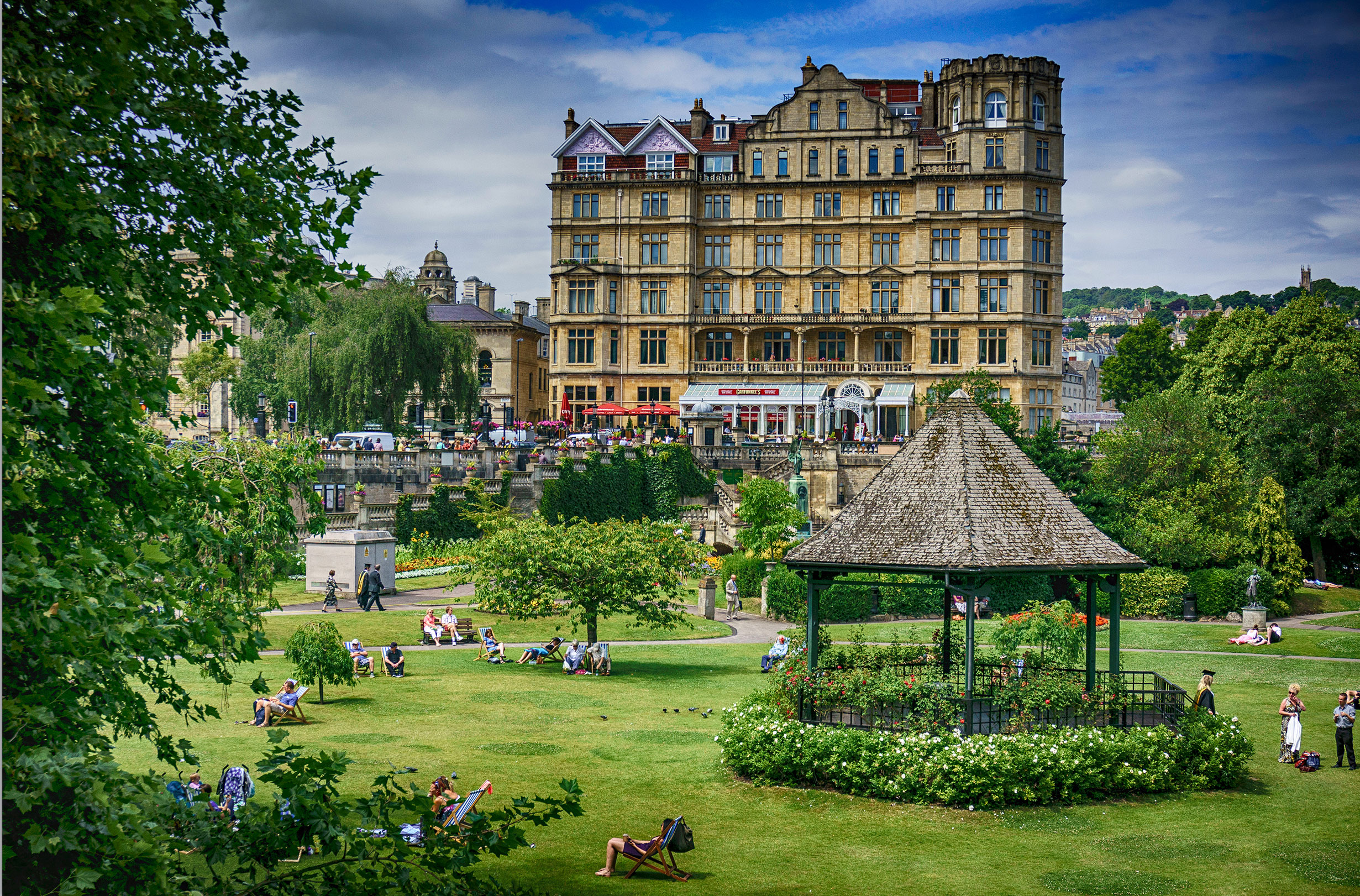 Parade Gardens - Bath UK Tourism, Accommodation, Restaurants & Whats On