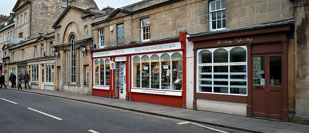 Pulteney Bridge Shops