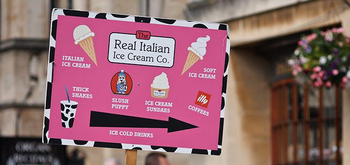 Real Italian Ice Cream Company Bath