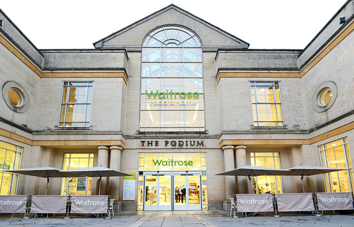 Waitrose Podium Bath