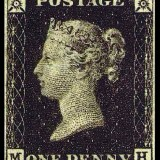 Bath Stamps Penny Black
