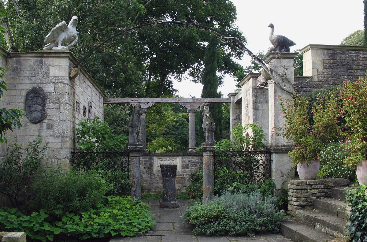 The Peto Garden At Iford Manor Bath Uk Tourism