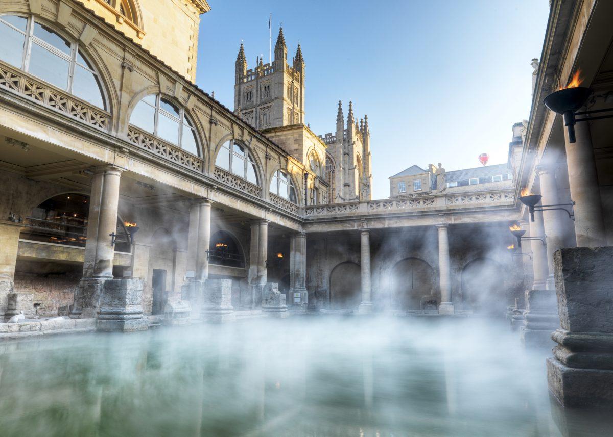 Roman Baths Bath UK Tourism Accommodation Restaurants Whats On