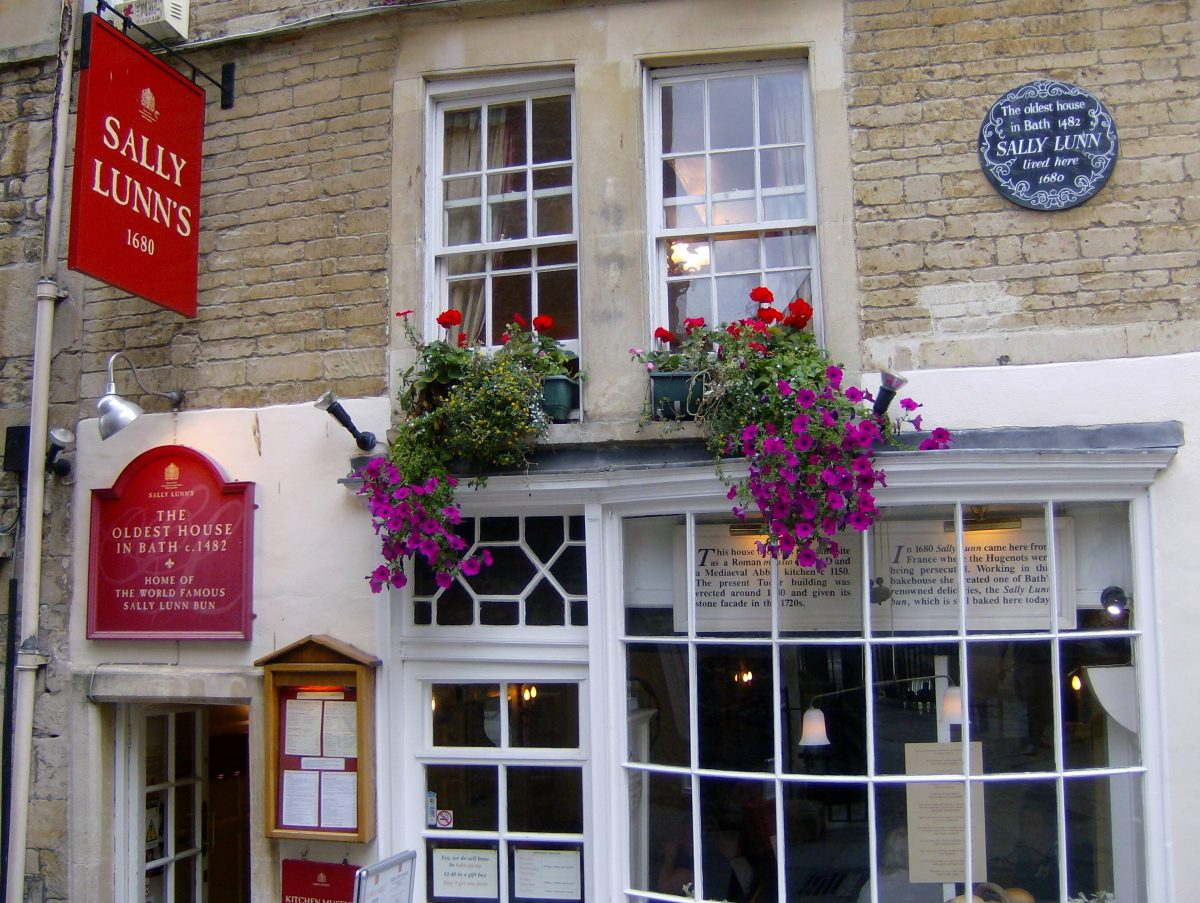 Sally Lunn's Refreshment House and Museum - Bath UK ...