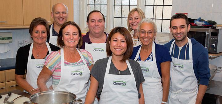 Genesis Trust Bath Ping Coombes Widcombe Volunteers