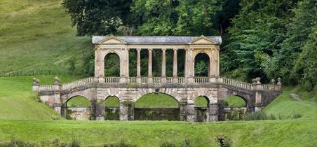 Beautiful and intimate 18th century landscape garden for Garden design 18th century