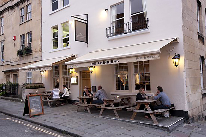 The Chequers Pub Bath