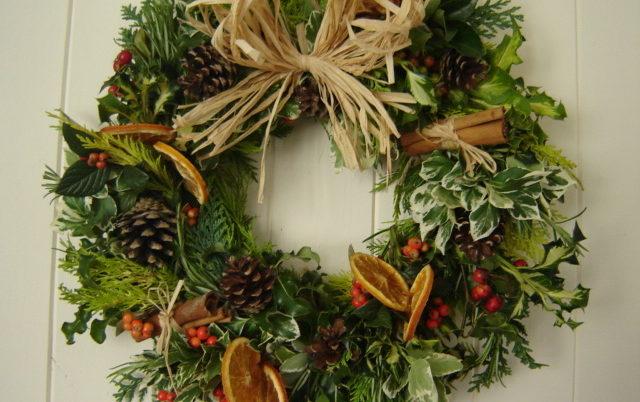 workshop christmas wreath making bath uk tourism accommodation