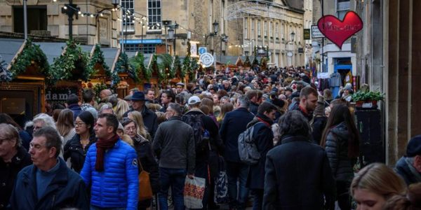 Iconic Buildings & Views of Bath Series – Bath Christmas Markets