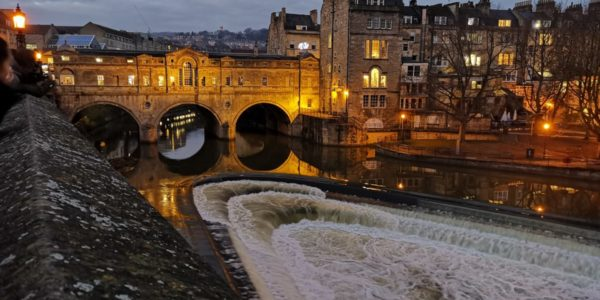 Iconic Buildings & Views of Bath Series – Pulteney Bridge & Weir