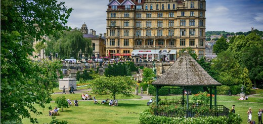 Empire & Parade Gardens Bath