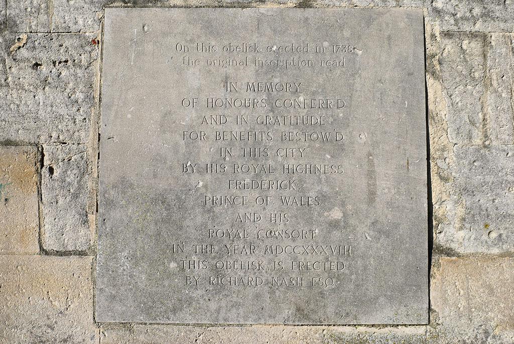 Queen Square Obelisk Inscription