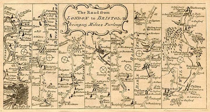Bath Stagecoach Map