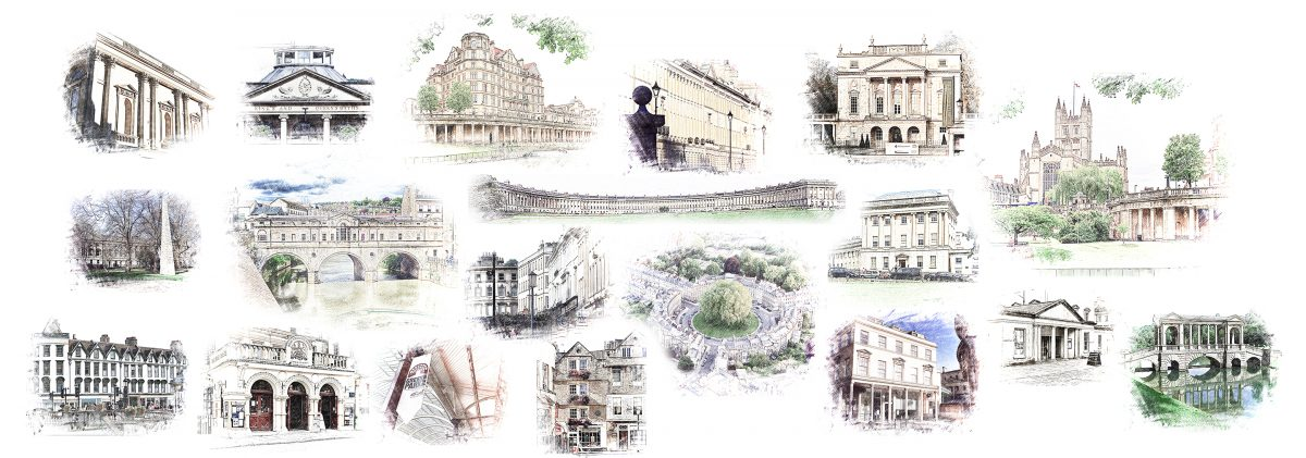 Attractions Map Bath Uk Tourism Accommodation Restaurants Whats On