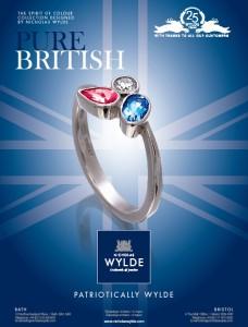 Nicholas Wylde Pure British