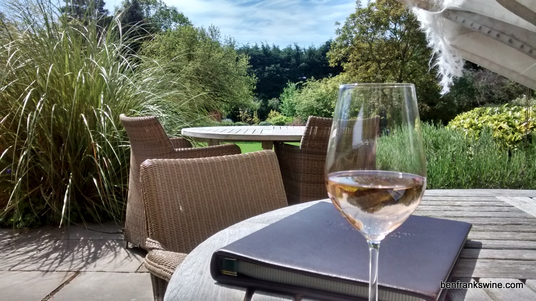 Wine at the Bath Priory