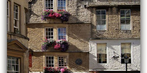 Iconic Buildings & Views of Bath Series – Sally Lunn's Historic Eating House